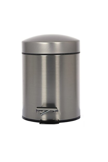 Cekinox Inox Pedallı Çöp Kovası Paslanmaz 3 Litre