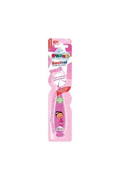 Pepe Işıklı Pembe Çocuk  Diş Fırçası