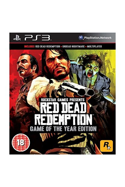 RockStar Games Red Dead Redemption Game Of The Year Edition PS3 Oyun