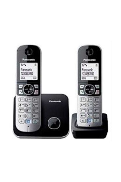 Panasonic Dect Telefon Kx-tg6812 Duo Siyah
