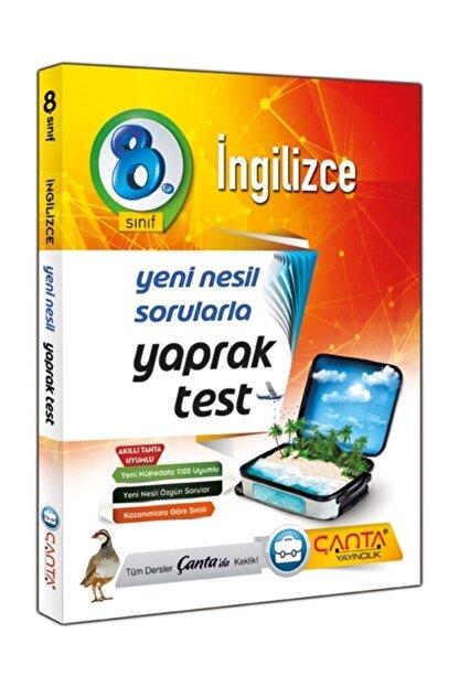 Çanta Yayıncılık ?çanta Yayınları 8. Sınıf Ingilizce Yaprak Test