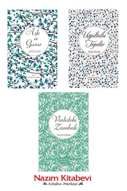 Koridor Yayıncılık Aşk Ve Gurur-jane Austen & Uğultulu Tepeler-emily Bronte & Vadideki Zambak-balzac Bez Ciltli