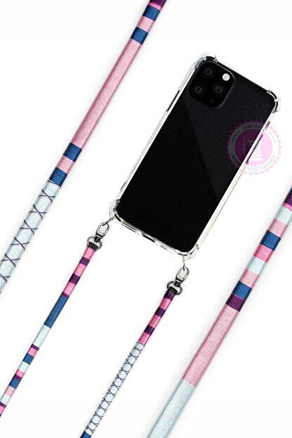 Vorson El Yapımı Iphone 8 Plus Kılıflı Telefon Askısı - Laelia