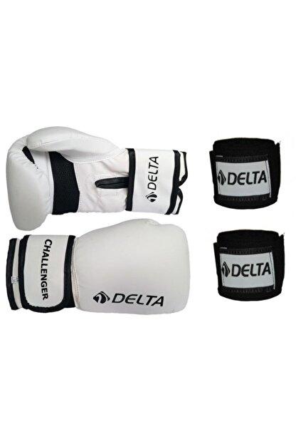 Delta Challenger Dura-strong Boks Eldiveni ve Boks El Bandajı Seti