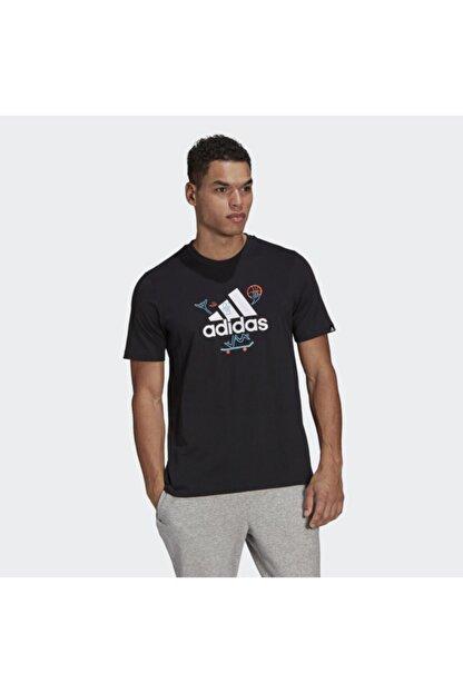 adidas Gl3709 M Crtn Logo Erkek Tişört