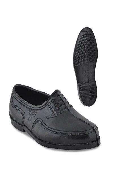 Emek Kara Lastik Erkek Trabzon Lastiği Erkek Ayakkabı
