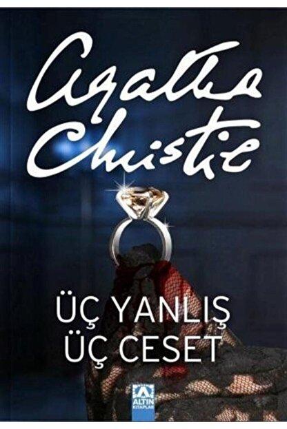 Altın Kitaplar Üç Yanlış Üç Ceset Agatha Christie