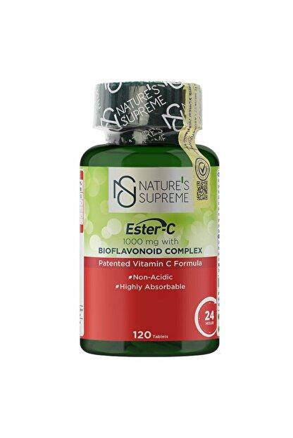 Natures Supreme Ester-c 1000 Mg C Vitamini 120 Tablet