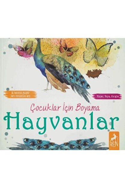 Ren Kitap Çocuklar Için Boyama Hayvanlar