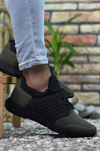 Riccon Haki Erkek Sneaker 0012105