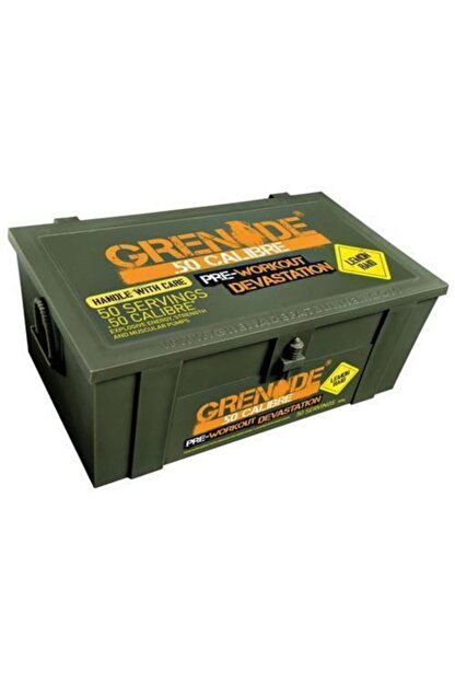 Grenade 50 Calibre 580 Gr Pre Workout - Limonaroma -