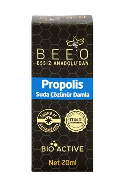 Beeo Propolis Suda Çözünebilir Damla 20 ml
