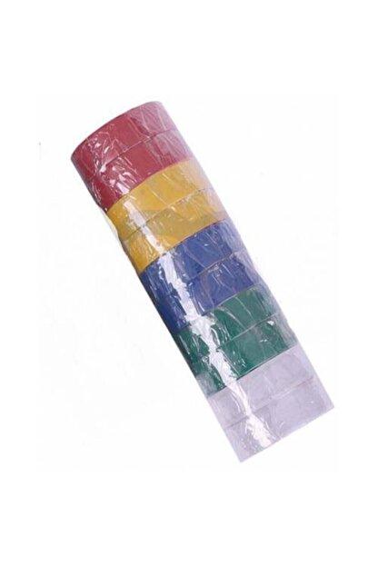 Finish Renkli Elektrik Bandı 10 Lu Renkli