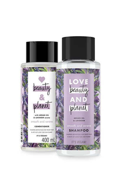Love Beauty and Planet Argan Yağı Ve Lavanta Özlü Şampuan 400 Ml + Saç Kremi 400 Ml