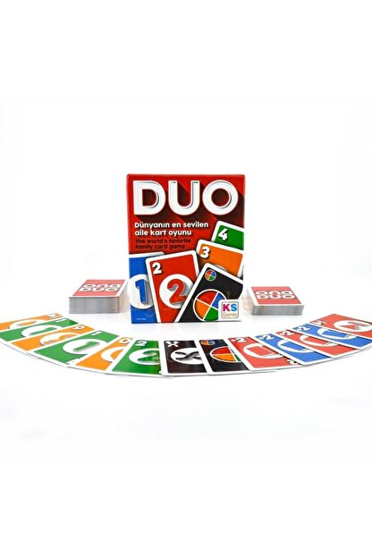 Ks Games Duo Kart Oyunu Grup Oyun Seti Masa Oyunu 2-10 Oyuncu
