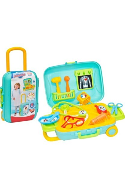 Dede Oyuncak Dede Candy & Ken Doktor Set Bavulum