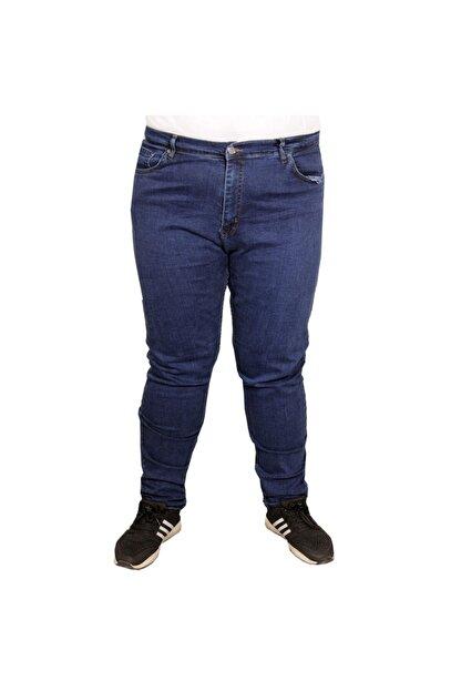Modexl Büyük Beden Erkek Pantolon Kot 20900 Mavi