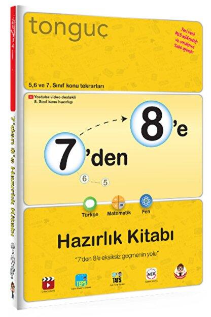 Tonguç Akademi 7'den 8'e Hazırlık Kitabı Türkçe Matematik Fen Bilimleri
