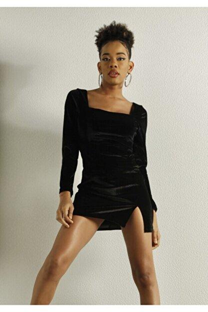 HOLLY LOLLY Kadın Siyah Elbise