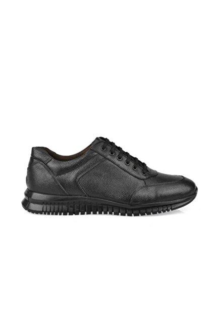 AND DERİ Erkek Siyah Hakiki Deri Ayakkabı