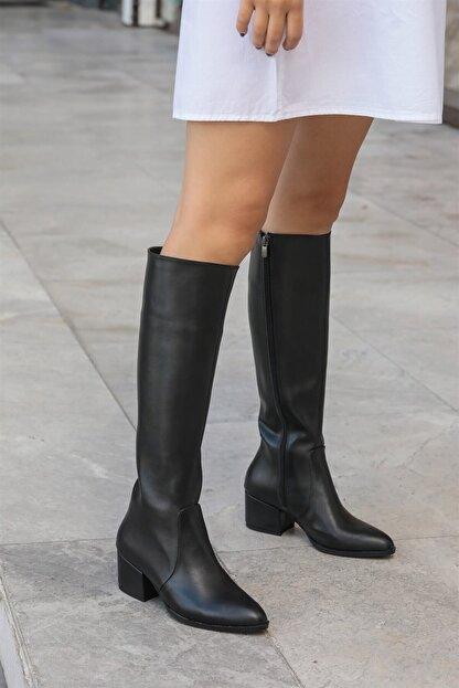 Mio Gusto Lidya Siyah Çizme
