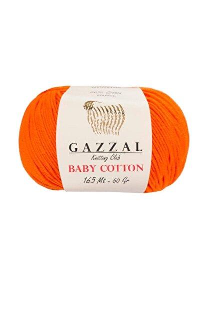 Gazzal Baby Cotton 3419   Pamuklu Amigurumi Ipi