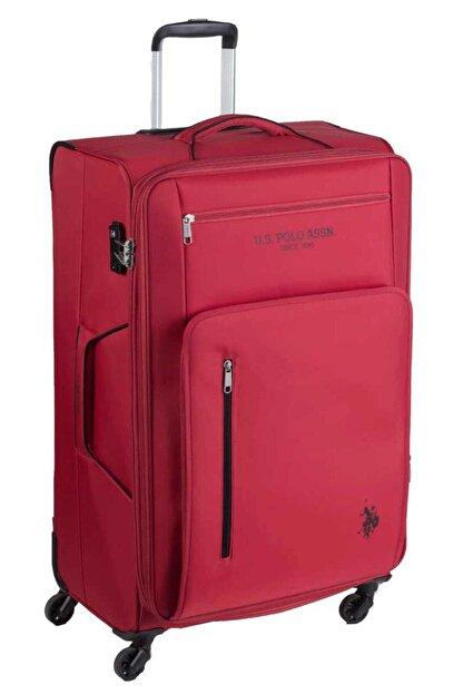 US Polo Assn Unisex Kırmızı Kabin Boy Valiz Plvlz9016c