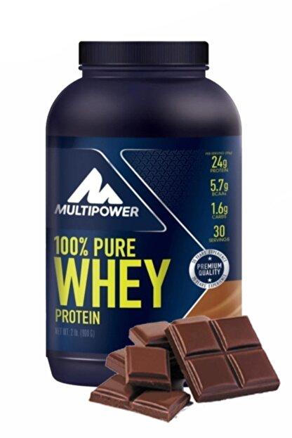 Multipower %100 Pure Whey Protein Çikolata Aromalı Protein Tozu 900 Gr