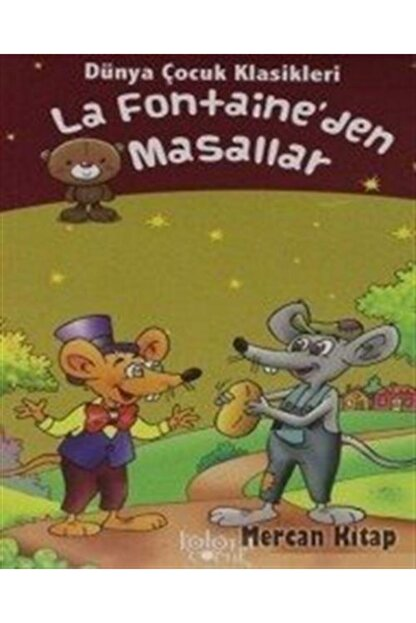 Koloni Çocuk La Fontaine'den Masallar