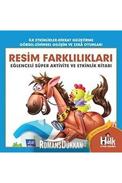 Halk Kitabevi Resim Farklılıkları - Eğlenceli Süper Aktivite Ve Etkinlik Kitabı - Ferhat Çınar 9786257145282