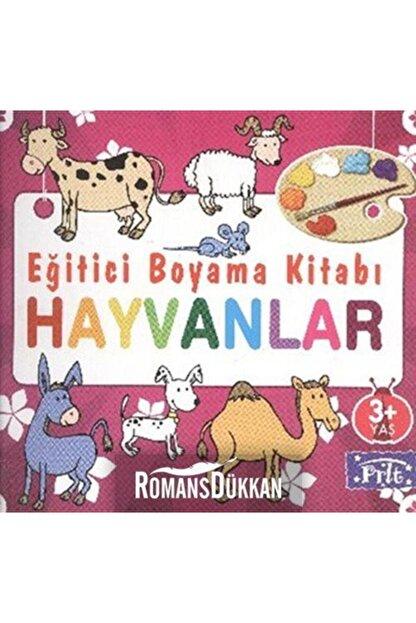 Parıltı Yayıncılık Eğitici Boyama Kitabı-hayvanlar