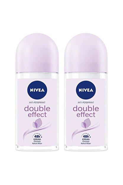 Nivea Double Effect Kadın Deodorant Roll-on 50 Ml 2'li