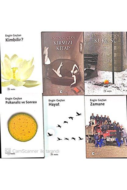 Metis Yayıncılık Engin Geçtan Kitap Seti 6 Kitap Kırmızı Kitap Kim Bilir Kuru Su Zamane Hayat Dinamik