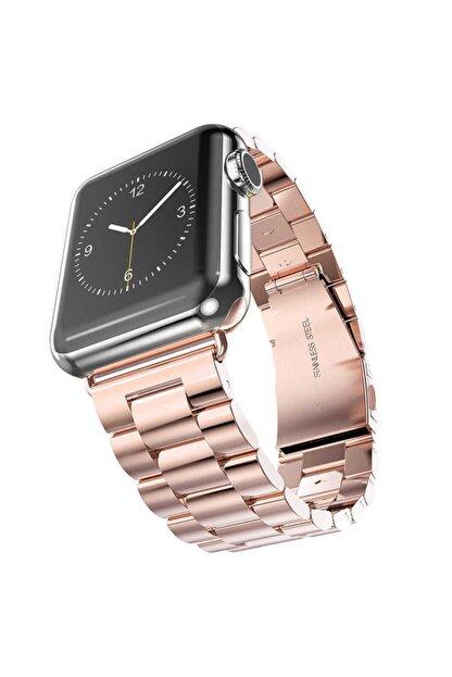 Zore Apple Watch 1 2 3 4 5 6 Serisi 40mm Yandan Klipsli Ayarlanabilir Metal Kordon (krd-04)