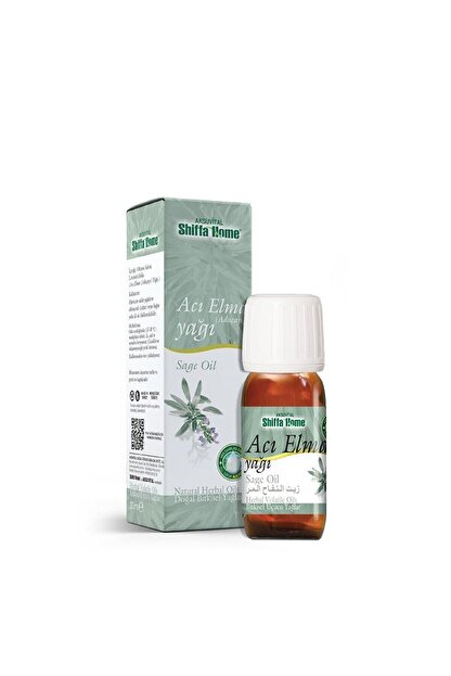 Aksu Vital Doğal Bitkisel Acı Elma Yağı 20 ml