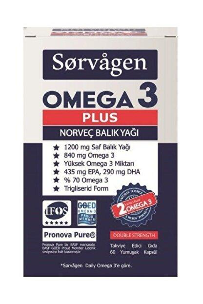 Sorvagen Omega 3 Plus 1200 Mg Balık Yağı 60 Kapsül