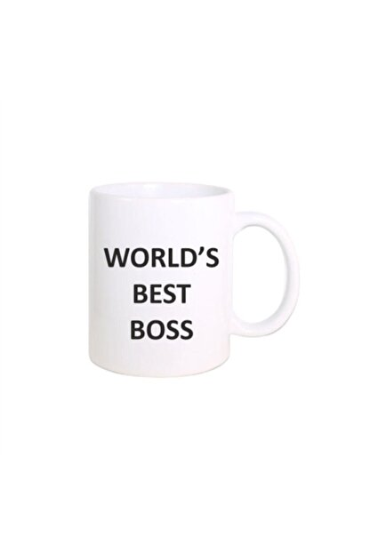 fibamug The Office - Michael Scott World's Best Boss Baskılı Kupa Bardak