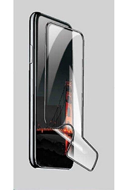 Zore Xiaomi Red Mi Note8 Pro Ekran Koruyucu Darbelere Dayanıklı Fiber Nano Siyah