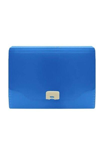 Faber Castell Körüklü Dosya Neon Renkler Koyu Mavi 5075392300000