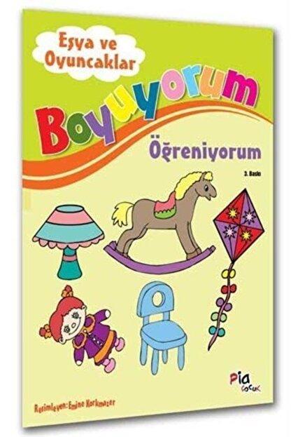 Pia Çocuk Yayınları Eşya Ve Oyuncaklar / Boyuyorum Öğreniyorum