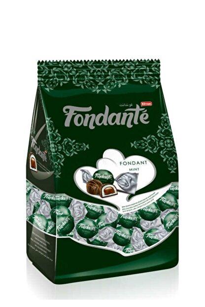 Elvan Fondante Çikolata Dolgulu Naneli 1000 Gr. (1 Poşet)