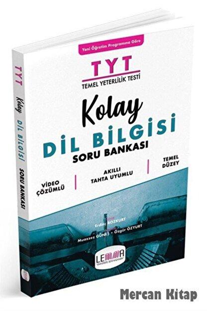 Lemma Yayınları Tyt Kolay Dil Bilgisi Soru Bankası