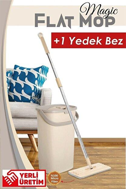 Bi' Home Magic Flat (tablet) Mop Set + 1 Yedek Bez