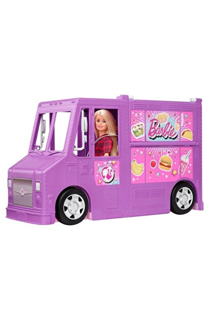 Barbie Barbie'nin Yemek Arabası Gmw07