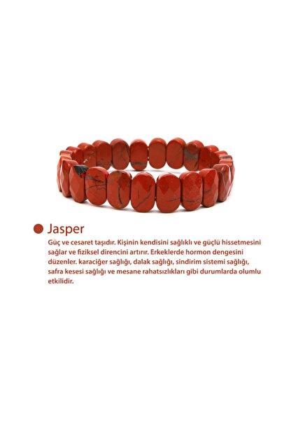 OSMANLI DOĞAL TAŞ Jasper Rolex Bileklik
