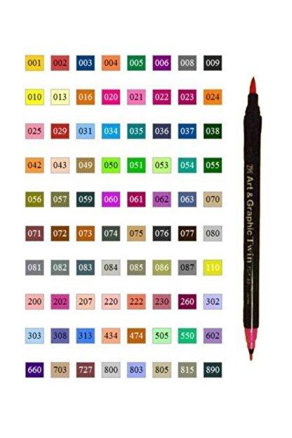 Zig Art & Graphic Twin Marker Çizim Kalemi 308 Cornflour Blue