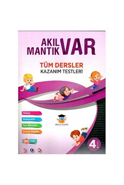 Zeka Küpü Yayınları Zeka Küpü 4.sınıf Akıl Var Mantık Var Tüm Dersler Kazanım Testleri