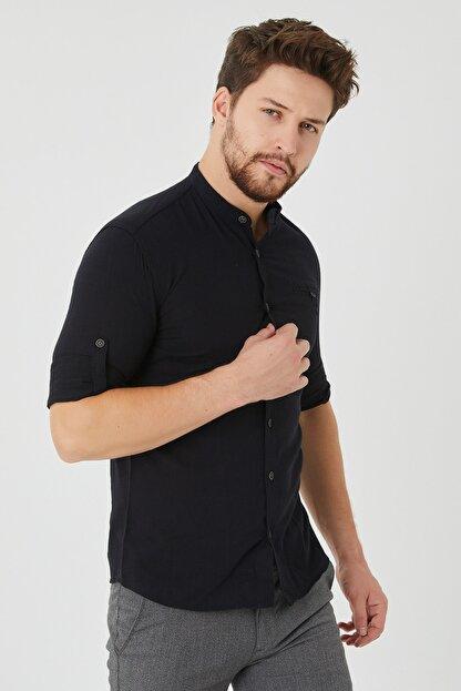 Cosmen Erkek Siyah Gömlek