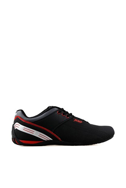 Jump Unisex Siyah Günlük Spor Ayakkabı 11726-a 11726