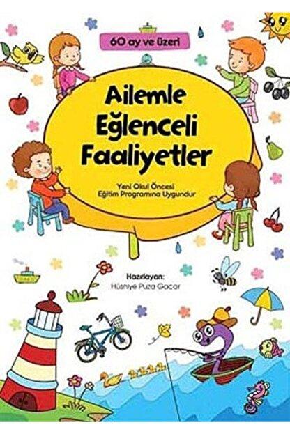 Çamlıca Çocuk Yayınları Ailemle Eğlenceli Faaliyetler (60 Ay Ve Üzeri)